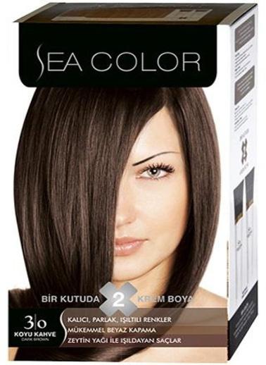 Sea Sea Color 2 Li Saç Boyası 3-0 Kahve